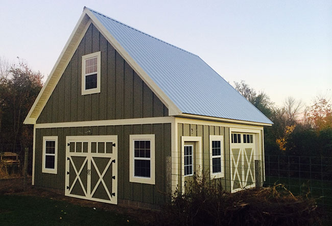 Sheds, Pole Barns, Storage - Buffalo, MN - Mutterer Construction