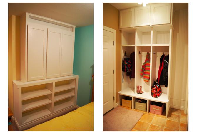 Built Ins Lockers Storage Design Ideas